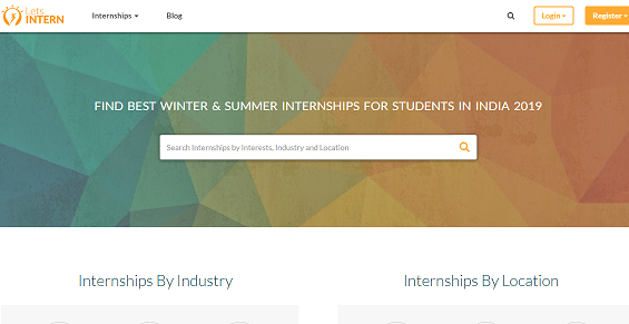 5 best websites for finding Internship - letsintern.com