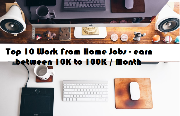 top 10 work from home jobs