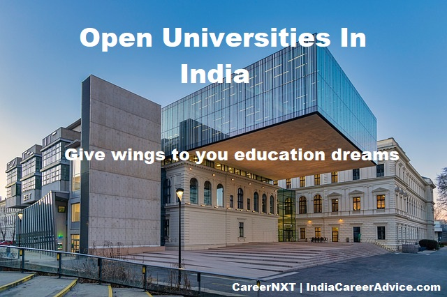 Open Universities In India