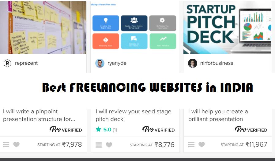 freelancing websites in India