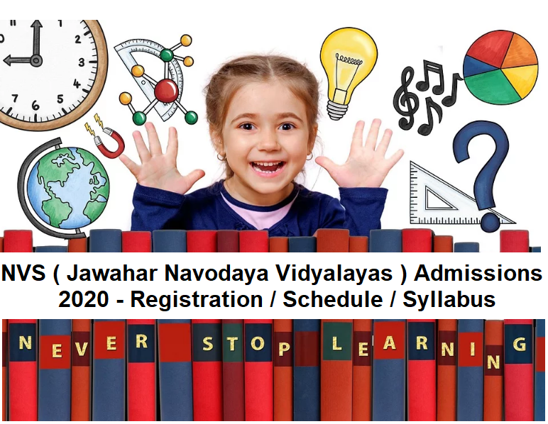 Navodaya Vidyalaya Admissions