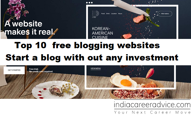 free blogging websites