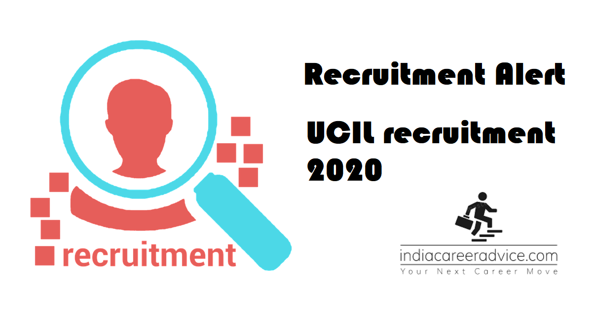 UCIL recruitment 2020