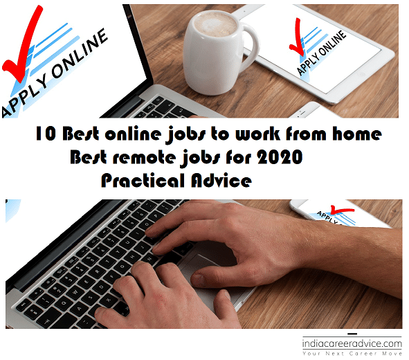 10 Best online jobs to work from home