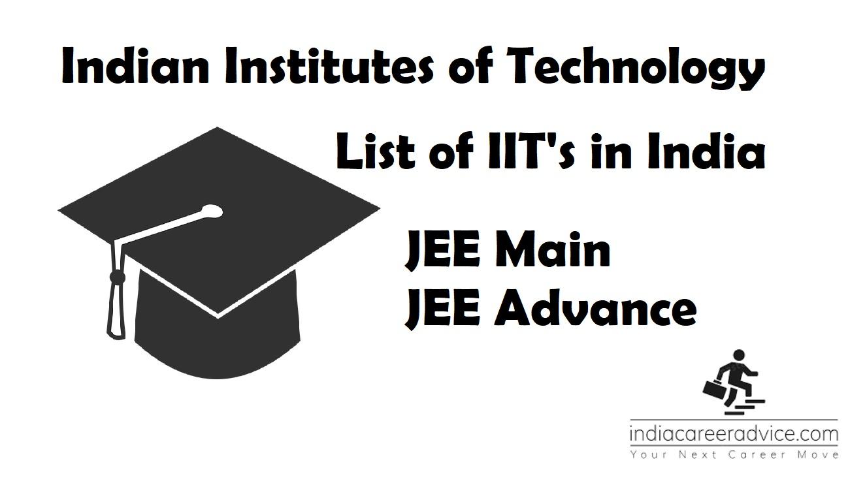 List of IIT's