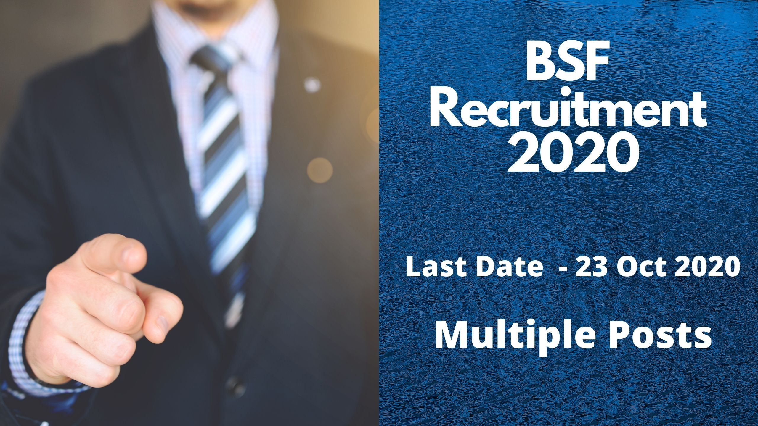 BSF Recruitment 2020