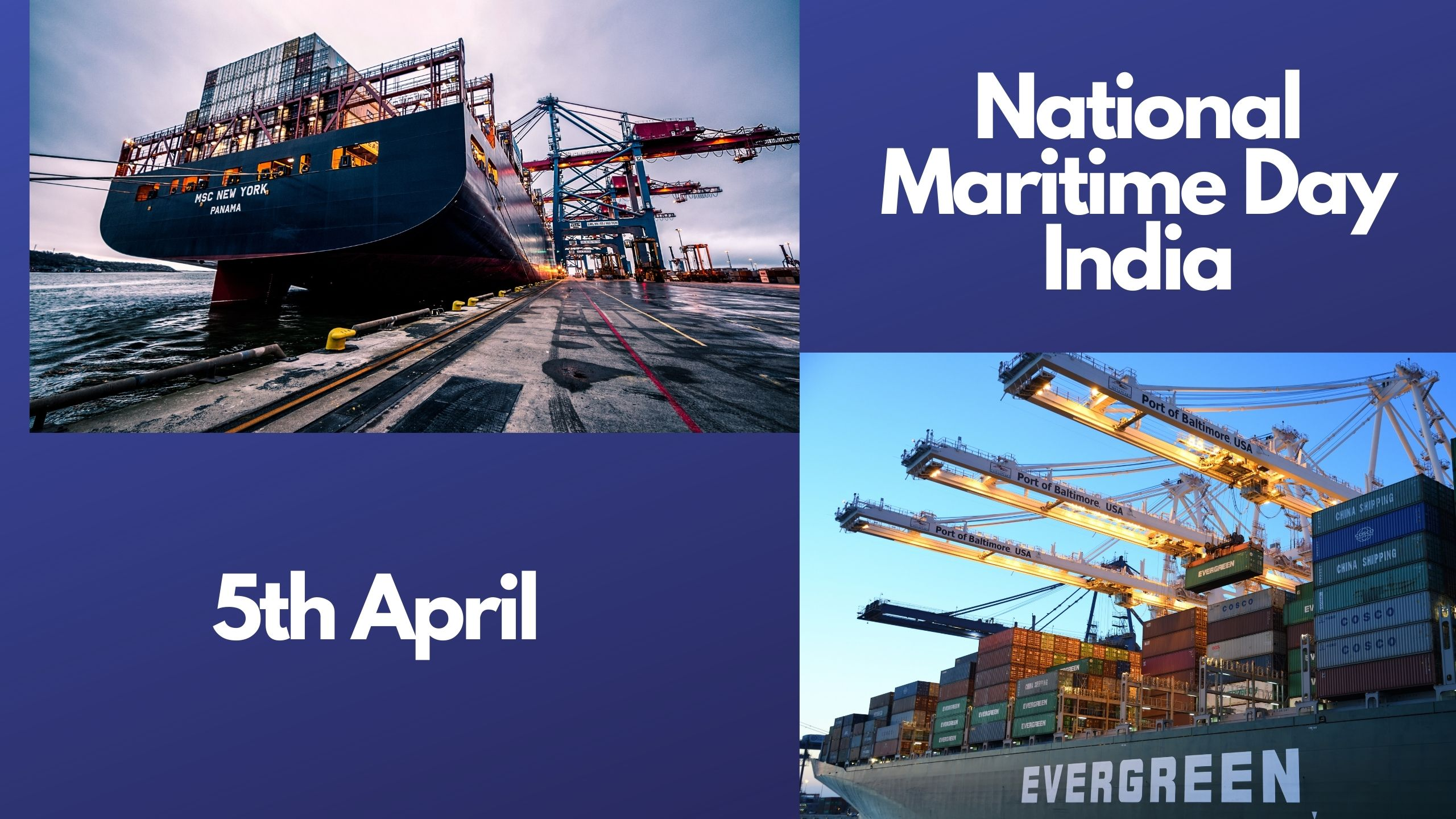 National Maritime Day India